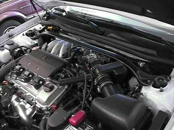 Solara engine compartment